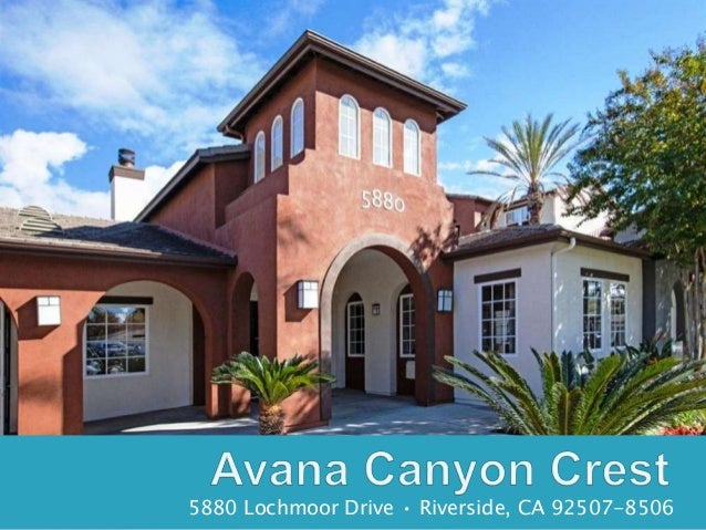 Avana Canyon Crest Apartments, Riverside, CA