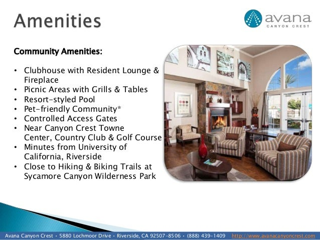 Avana Canyon Crest Apartments, Riverside, CA