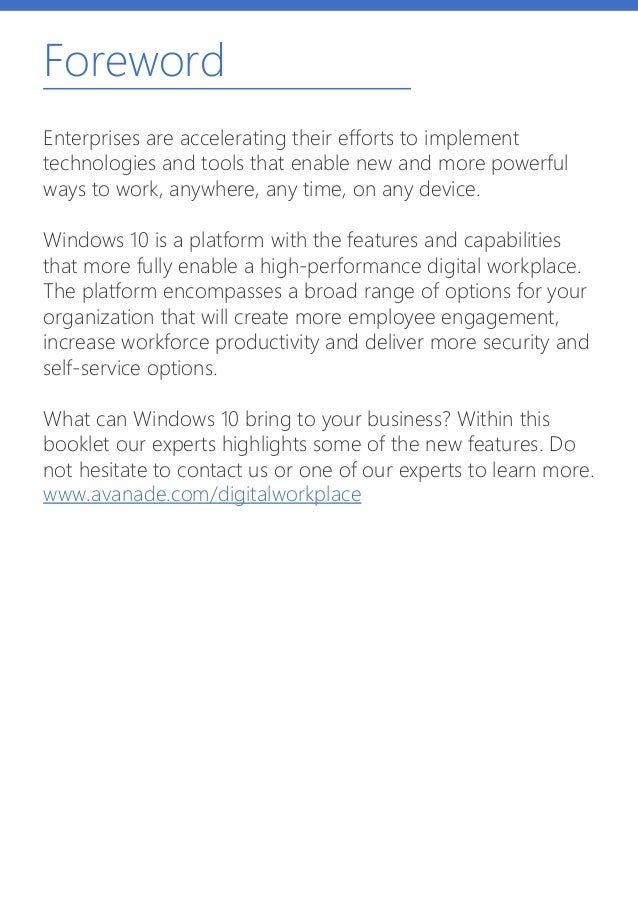Foreword Enterprises are accelerating their efforts to implement technologies and tools that enable new and more powerful ...