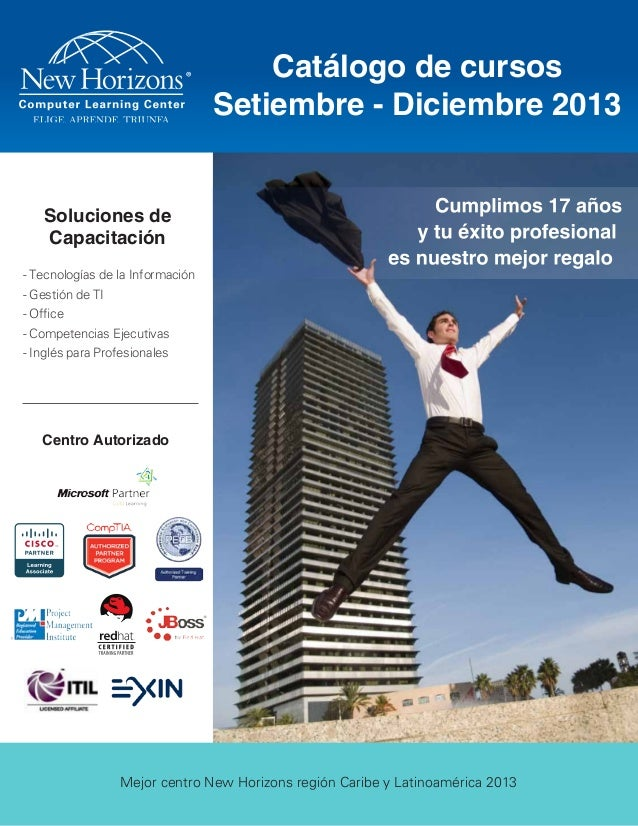 Soluciones de Capacitación Centro Autorizado - Tecnologías de la Información - Gestión de TI - Office - Competencias Ejecu...