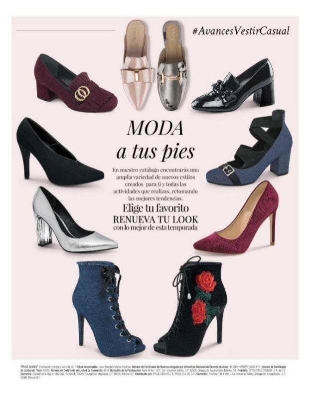 Avance Price Shoes Vestir Casual 17 18