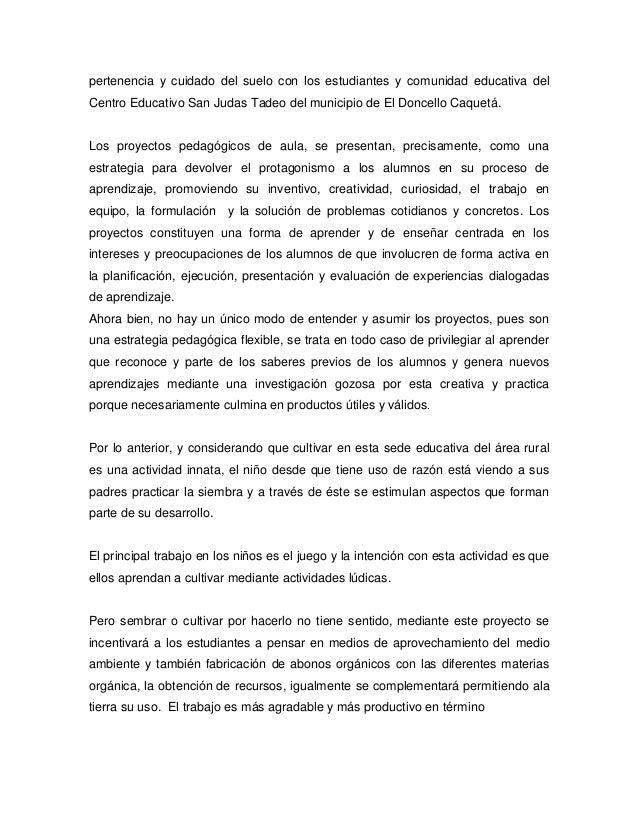 pertenencia y cuidado del suelo con los estudiantes y comunidad educativa delCentro Educativo San Judas Tadeo del municipi...