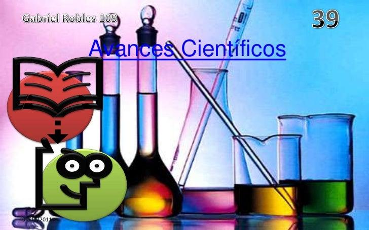 Avances Científicos01/12/2011                         1