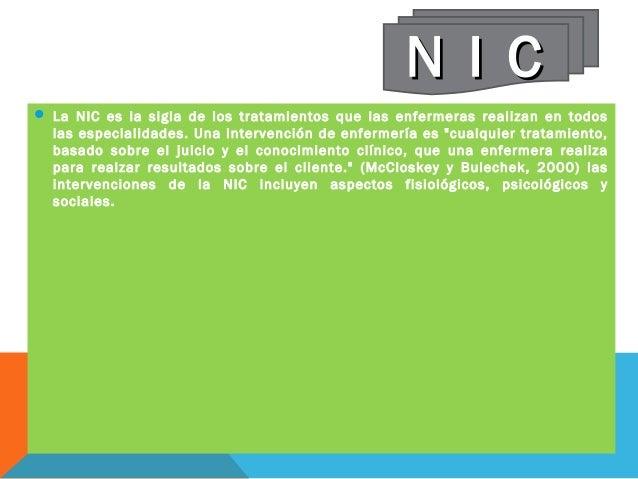 nic nursing interventions classification pdf