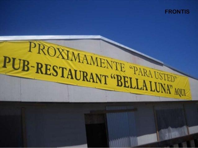 Avances Restaurante Bella Luna Arauco Slide 2
