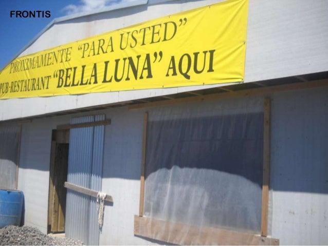 Avances Restaurante Bella Luna Arauco Slide 3