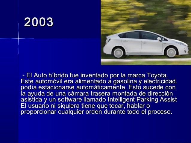 inventos tecnologicos 2003