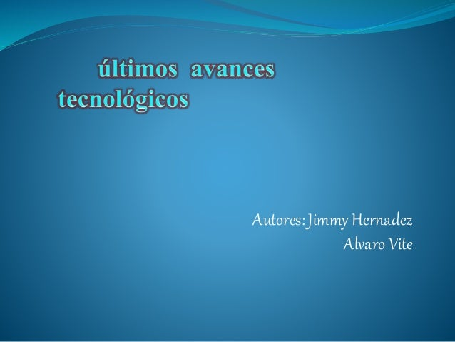 Autores: Jimmy Hernadez Alvaro Vite