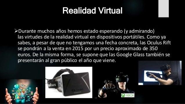 inventos tecnologicos realidad virtual