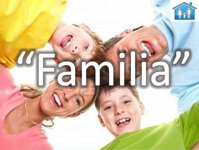 PSICOLOGIA TEMA LA FAMILIA
