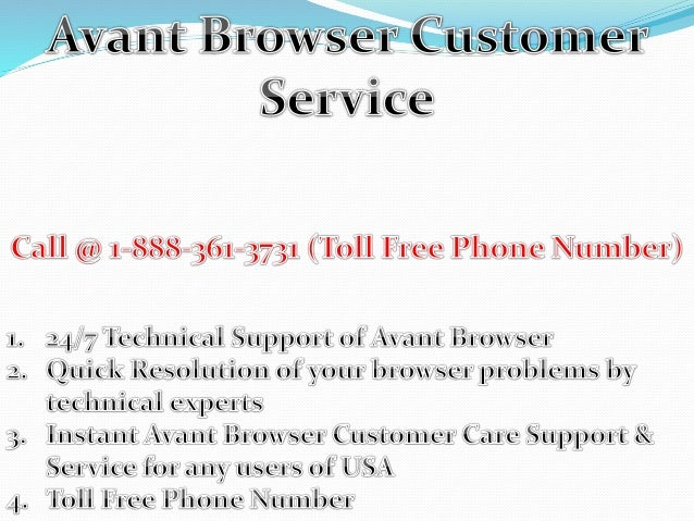 Technical support.