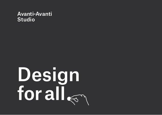 Avanti–AvantiStudioDesignfor all         .