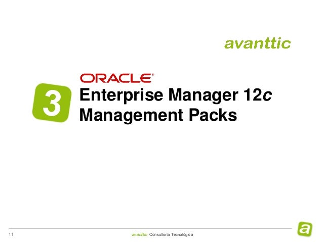 Oracle Enterprise Manager 12c & Management Packs
