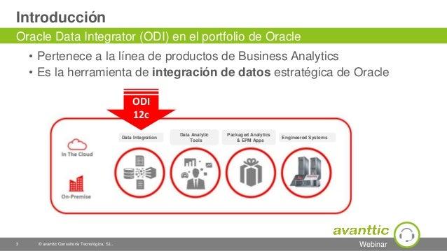 Webinar Oracle Data Integrator 12c (ODI) Slide 3