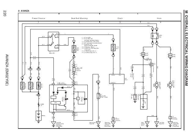 Wiring Diagram Avanza Vvti - Wiring Diagrams on