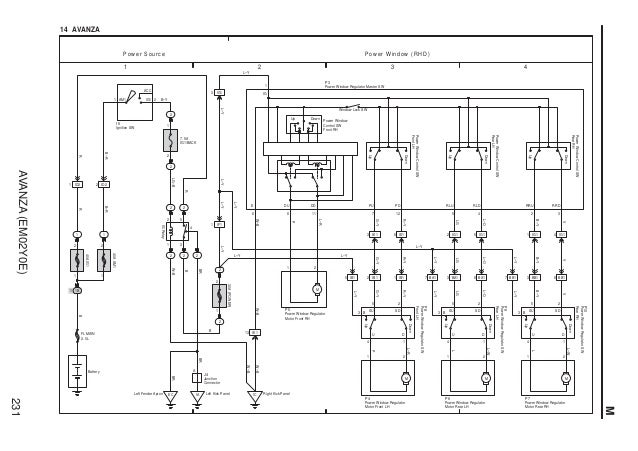 Wiring Diagram Tape Toyota Avanza : Avanza toyota engine wiring diagram auto parts