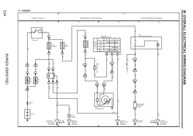[SCHEMATICS_4US]  Avanza wiring diagram | Wiring Diagram Power Window Xenia |  | SlideShare