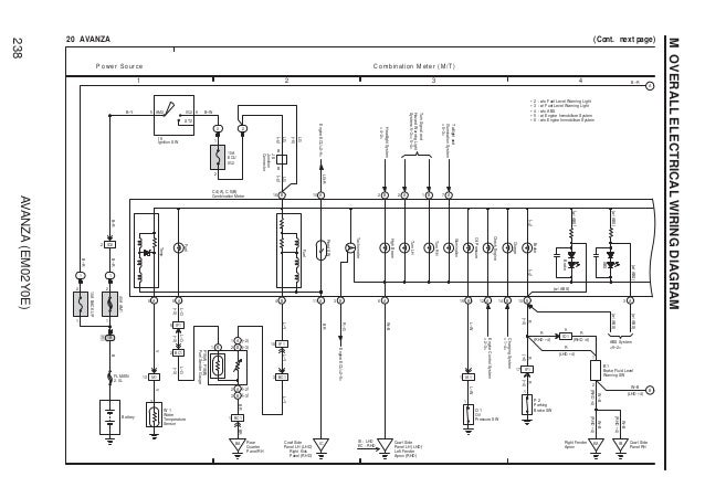 avanza wiring diagram, Wiring diagram