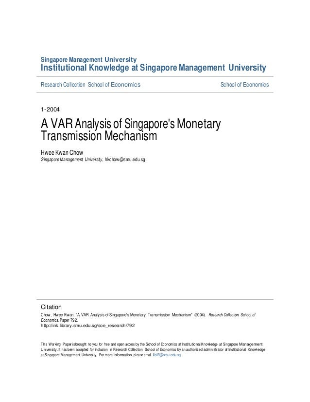 Singapore Management UniversityInstitutional Knowledge at Singapore Management UniversityResearch Collection School of Eco...