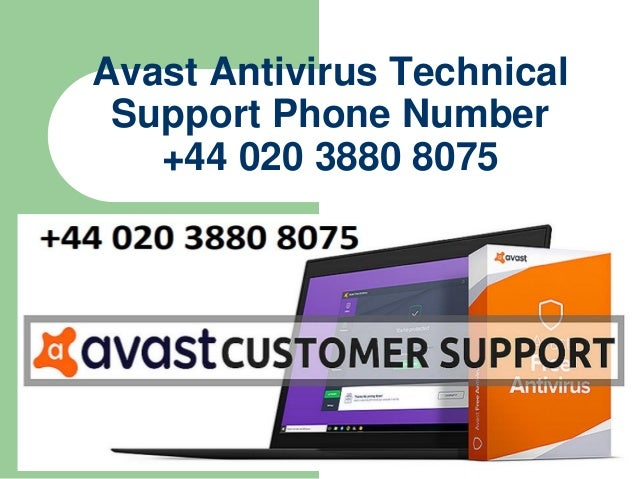 avast customer service telephone number