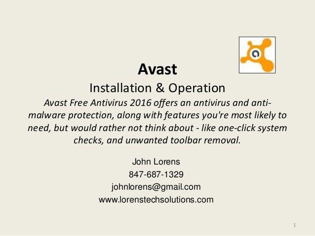 avast malware removal free