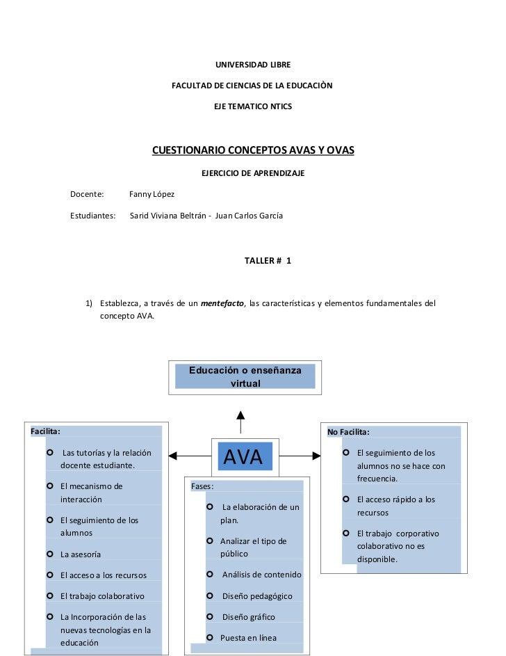 UNIVERSIDAD LIBRE                                      FACULTAD DE CIENCIAS DE LA EDUCACIÒN                               ...