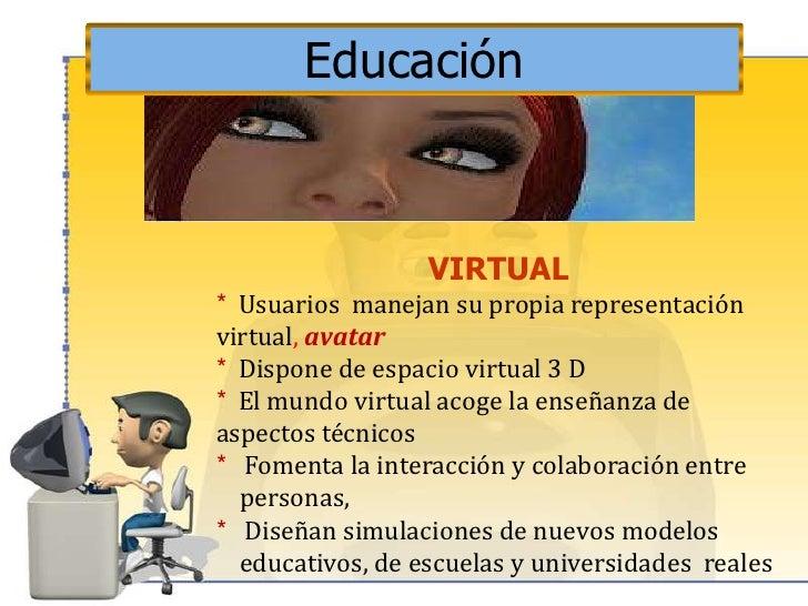 Aprendizaje con el uso de avatar Slide 3