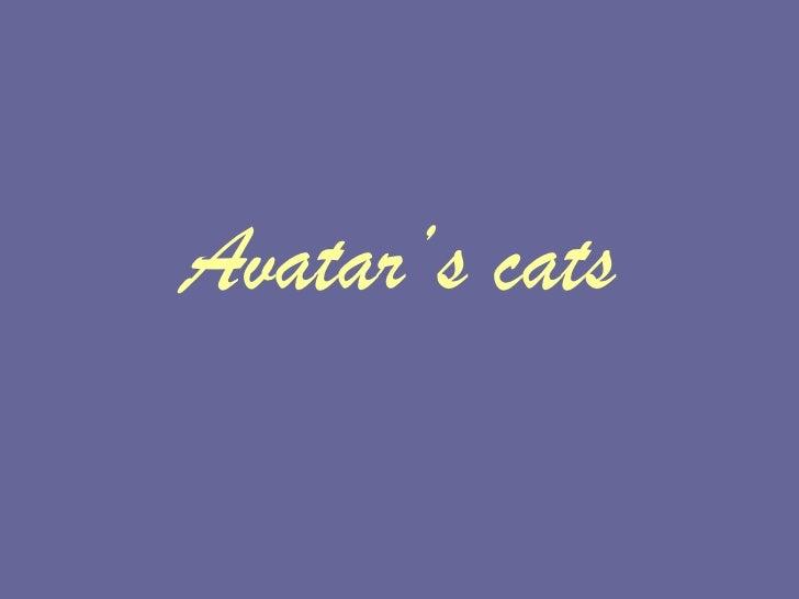 Avatar's   cats