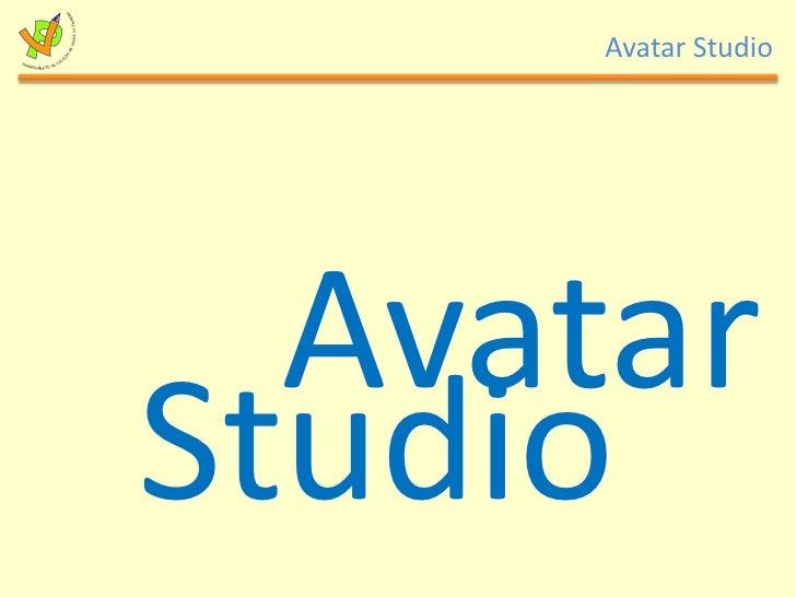 Avatar<br />Studio<br />