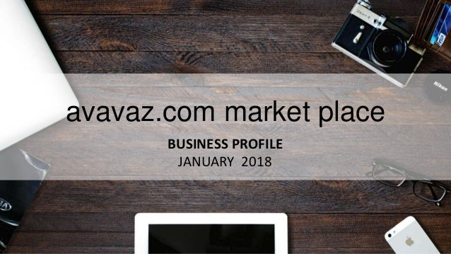 avavaz.com market place BUSINESS PROFILE JANUARY 2018
