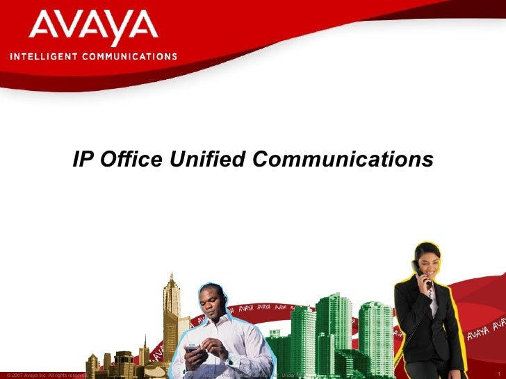 IP Office Unified Communications