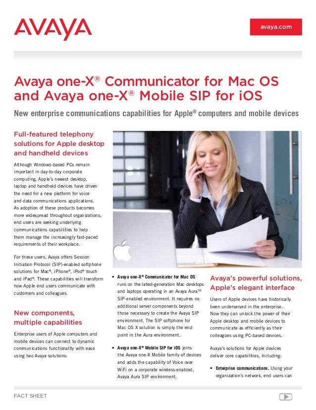 Full-featured telephony solutions for Apple desktop and handheld devices Although Windows-based PCs remain important in da...
