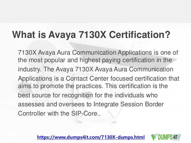 Avaya 7130 x contact center specialist exam dumps question for guaran…