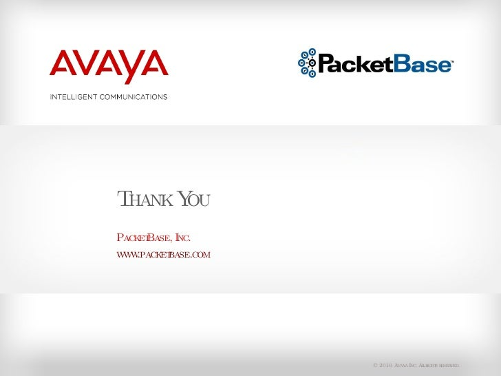 Avaya 9600 Series IP Deskphones by PacketBase