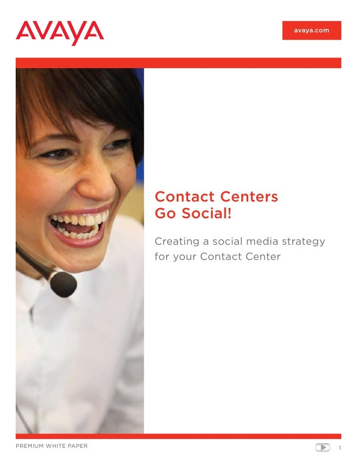 Avaya Contact Centers Go Social by PacketBase