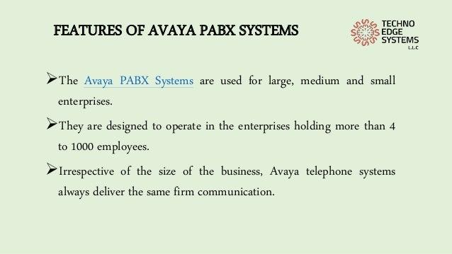 Avaya IP500 IP PBX System | Avaya IP Office Phones Dubai