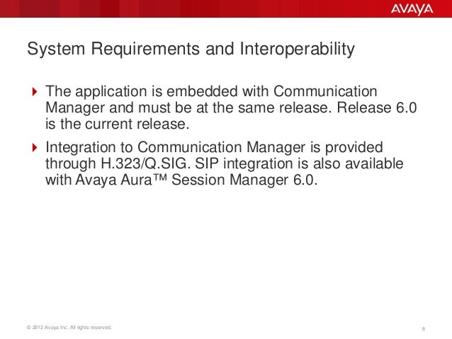 Avaya Aura Messaging Portfolio