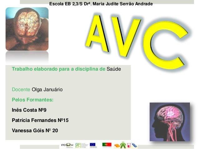 Escola EB 2,3/S Drª. Maria Judite Serrão Andrade  Trabalho elaborado para a disciplina de Saúde  Docente Olga Januário Pel...