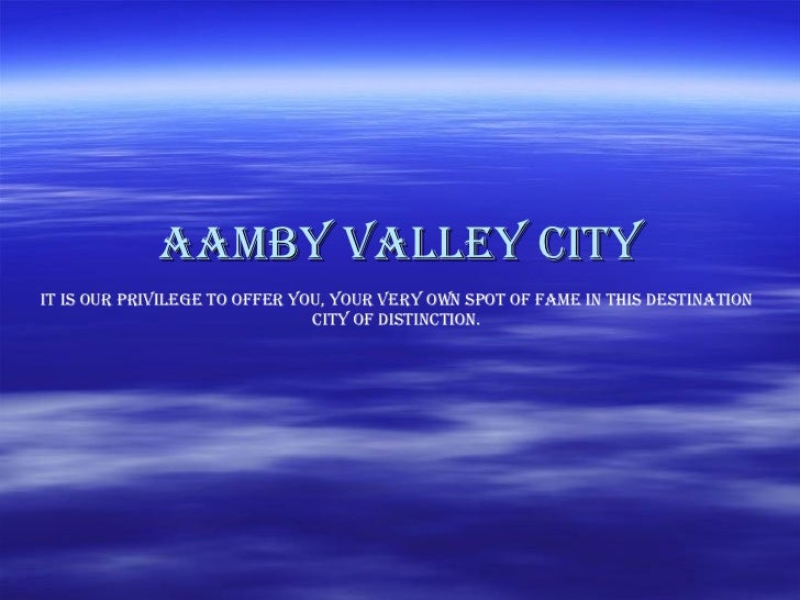 Aamby Valley City It is our privilege to offer you, your very own spot of fame in this Destination city of distinction.