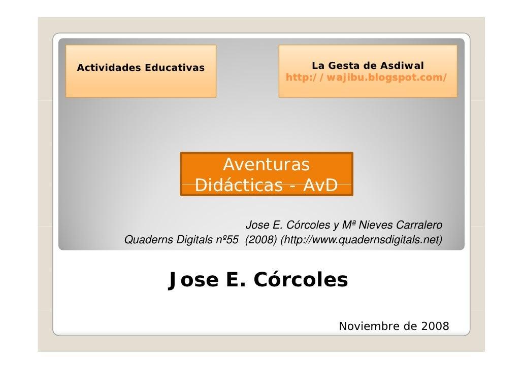 Aventura Didáctica - AvD