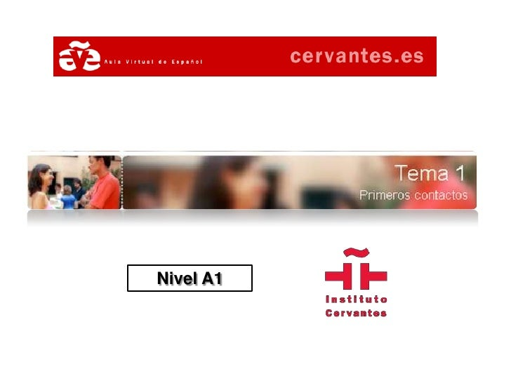 Aula Virtual de Español - Nivel A1