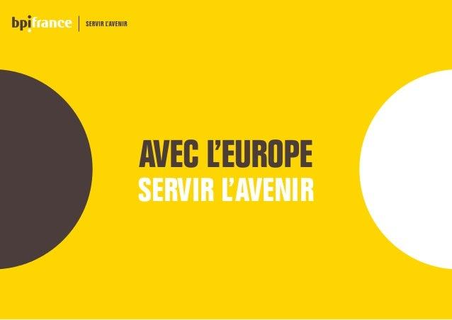 AVEC L'EUROPE SERVIR L'AVENIR