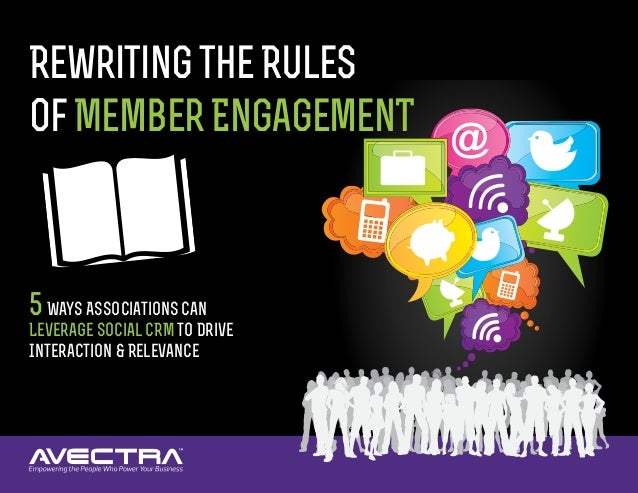 RewritingtheRules ofMemberEngagemenT 5Ways Associations Can Leverage Social CRM to Drive Interaction & Relevance