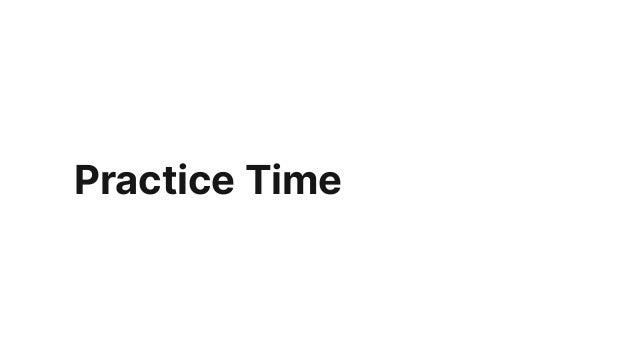 Stick to Timeframe!