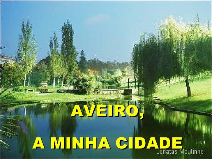 AVEIRO, A MINHA CIDADE