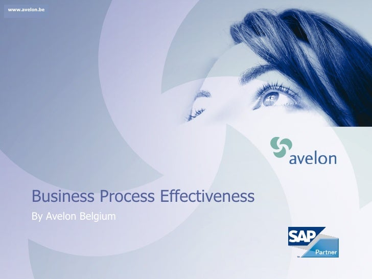 Business Process Effectiveness By Avelon Belgium