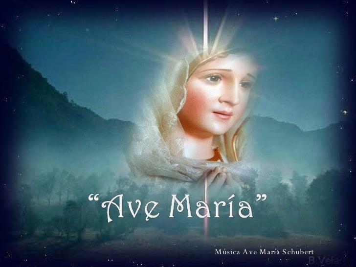 Música Ave María Schubert