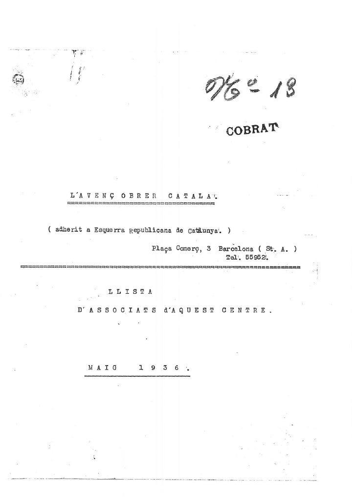 Avenç Obrer Català 1936