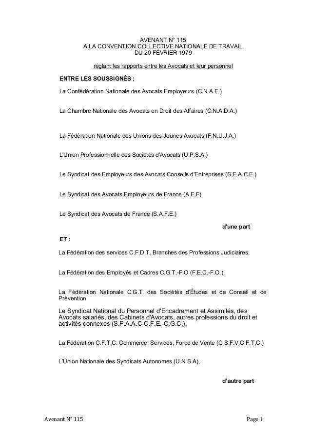 Idcc 1000 Avenant Relatif Au Travail A Temps Partiel