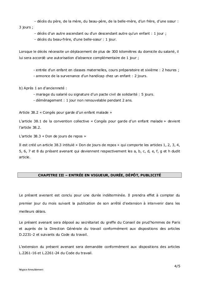 Idcc 1880 Don De Jours De Repos Et De Conges Pour Les Evenements Fami